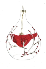 Sullivans Cardinal Dangle Ornament - Front cropped