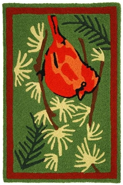 Jelly Bean Rugs Cardinal In Pines - Alternate List Image