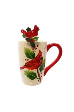 Ganz Cardinal Mug W/spoon - Product List Image