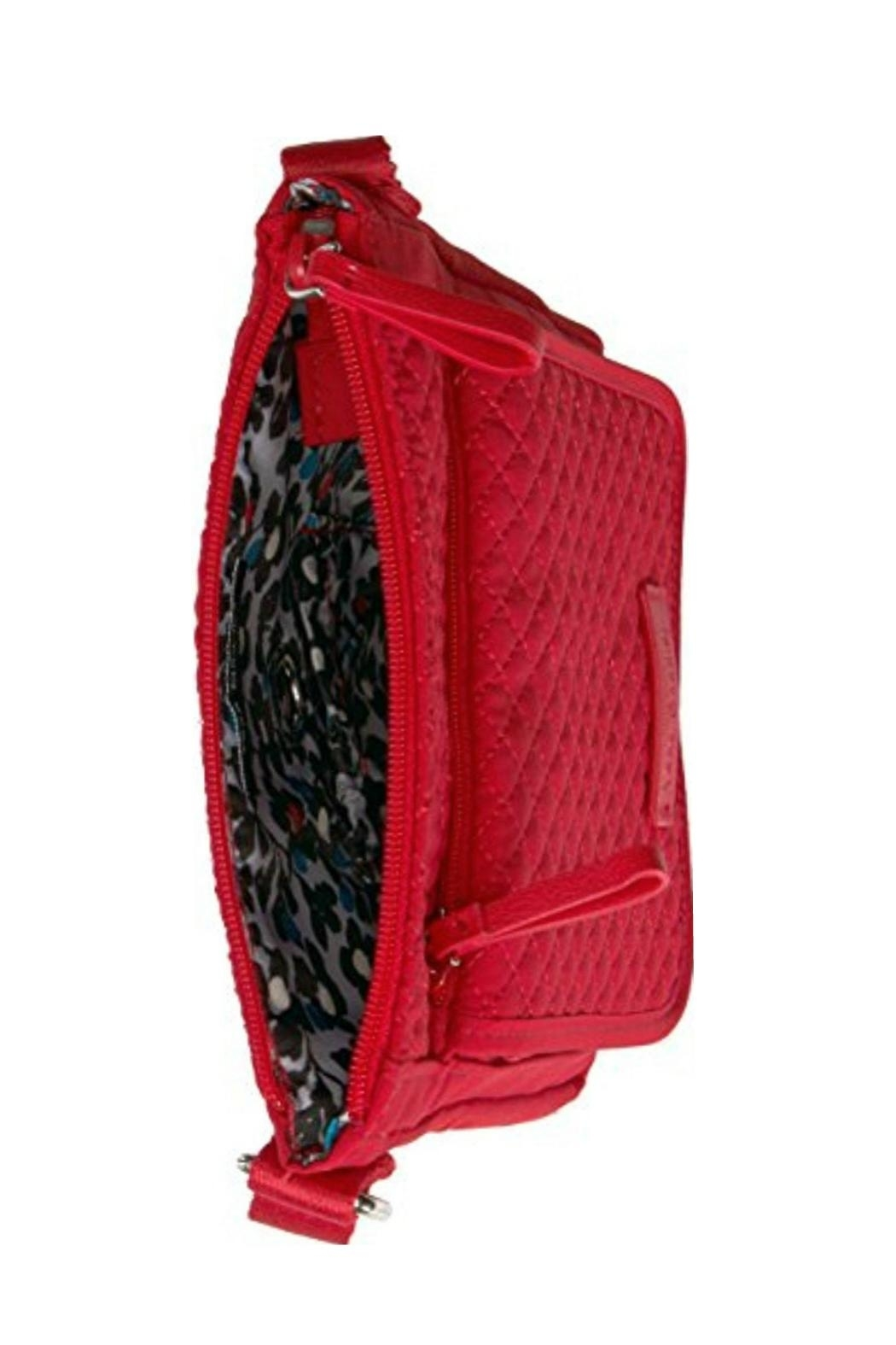Vera Bradley Cardinal Red Mini-Hipster - Side Cropped Image