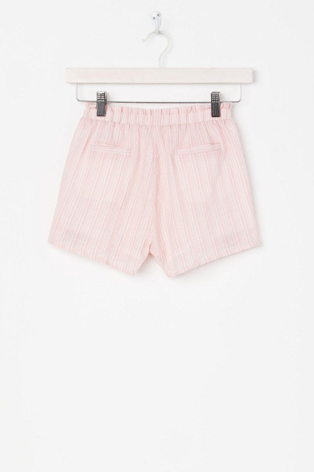Miss Me Carefree Embroidered Shorts - Side Cropped Image