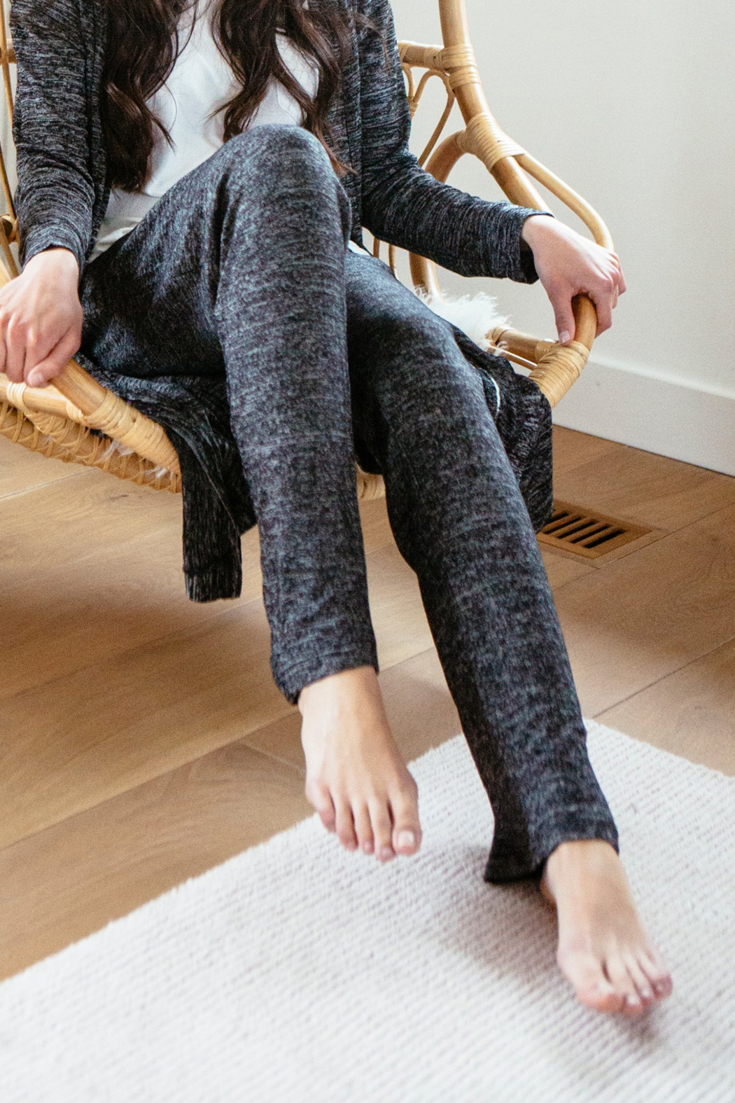 Hello Mello Carefree Threads Lounge Pants - Front Full Image