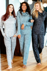 Hello Mello Carefree Threads Lounge Pants - Front full body