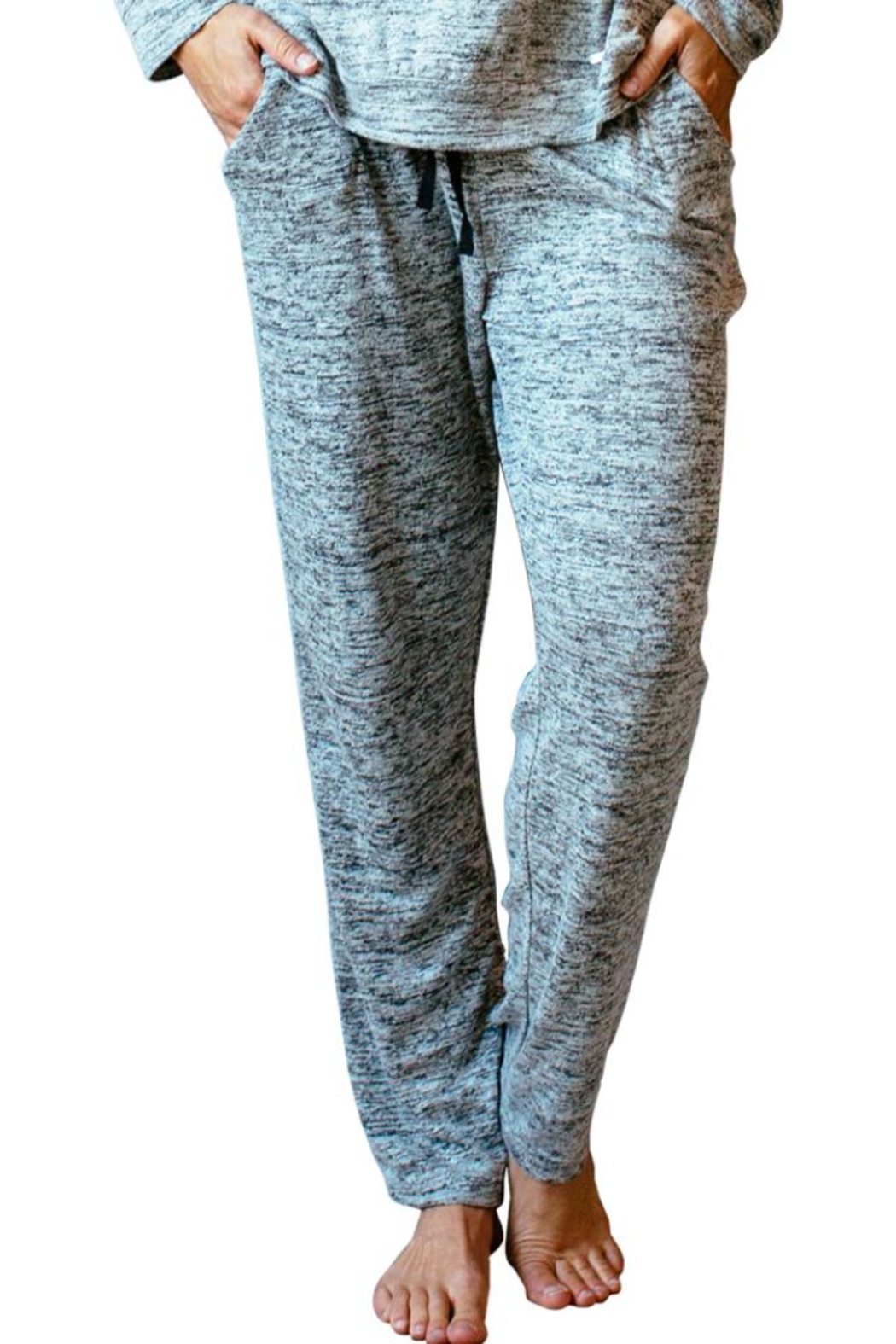 Hello Mello Carefree Threads Lounge Pants - Front Cropped Image