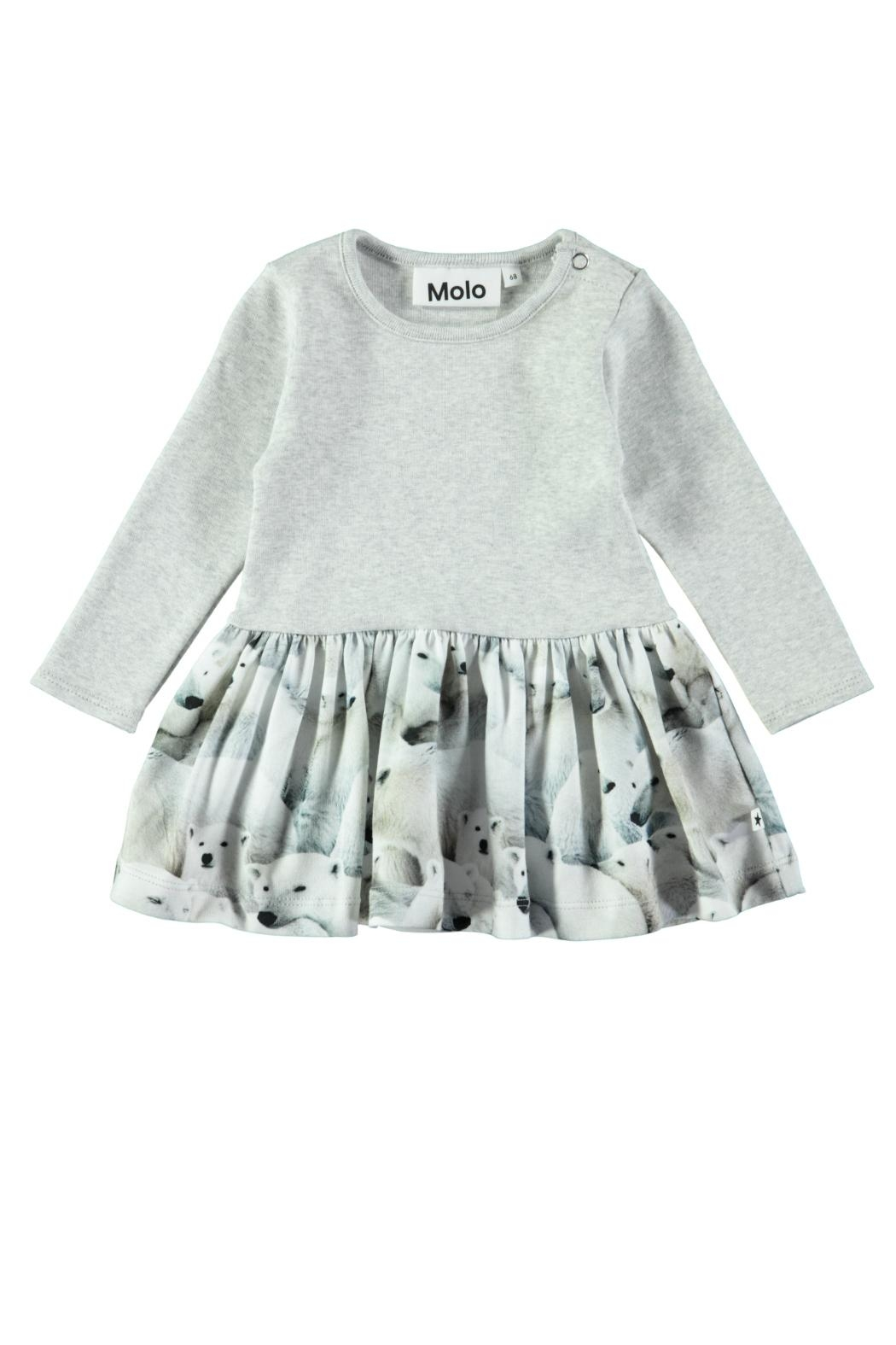 Molo Carel Polar Dress - Front Cropped Image
