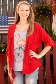 Umgee USA Cargo Blazer Jacket - Product Mini Image