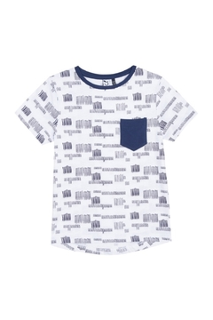 3Pommes CARGO GRAPHIC TEE - Product List Image