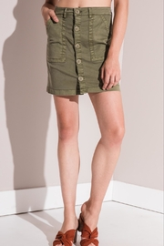rag poets Cargo Mini Skirt - Product Mini Image