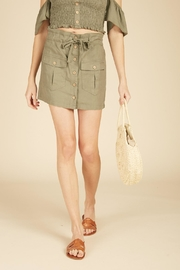 Vintage Havana Cargo Mini Skirt - Product Mini Image