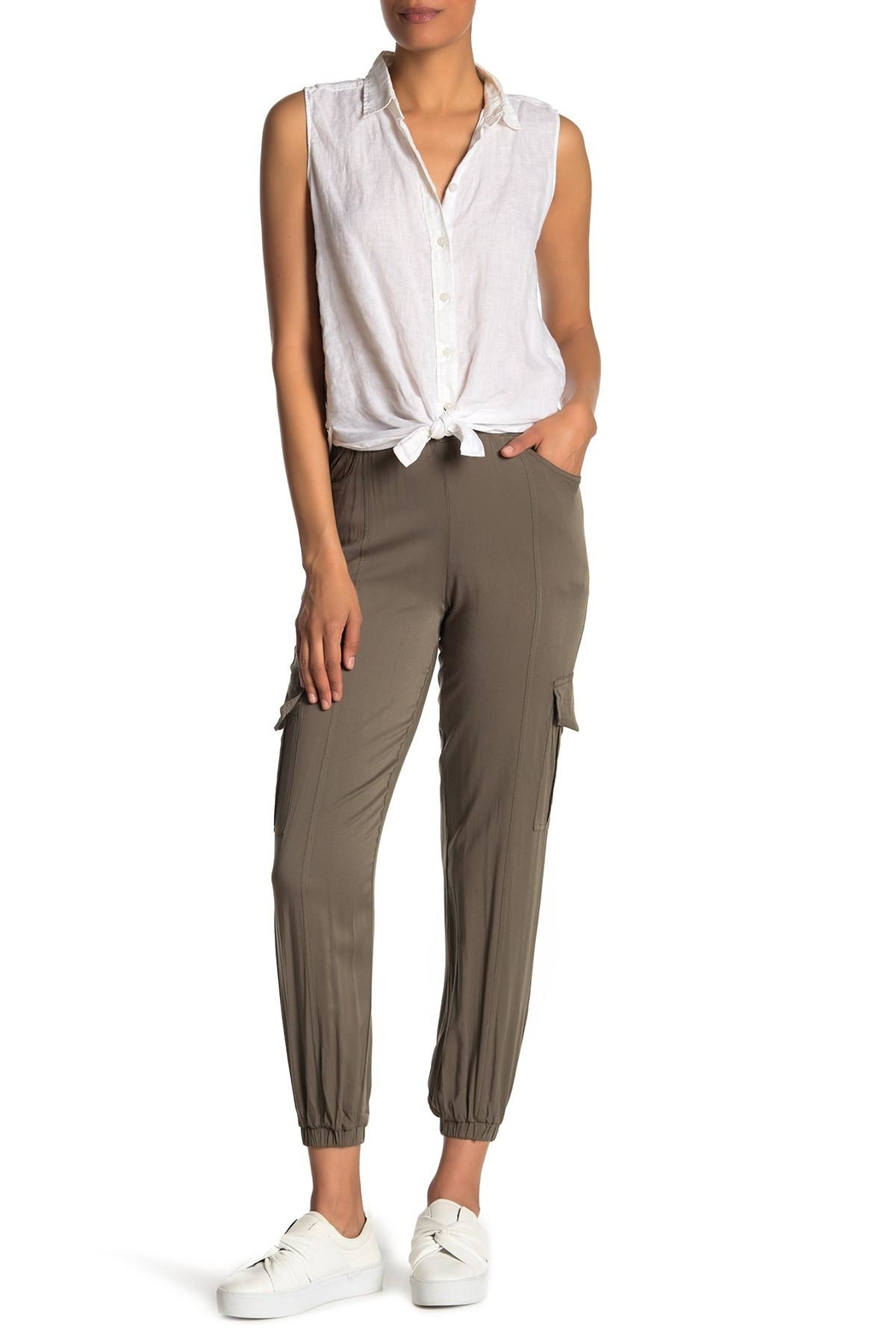 RD Style Cargo Pants - Front Cropped Image