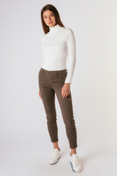 Tractr Cargo Skinny Jeans - Product List Image