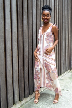 Shoptiques Product: Caribbean Alfresco Paisley Maxi Dress