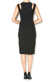 Caribbean Queen Black Dress - Back cropped