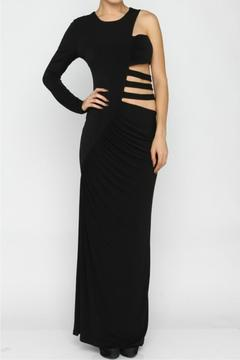 Caribbean Queen Asymmetrical Cutout Gown - Product List Image