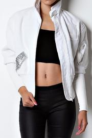 Caribbean Queen New Bomber Jacket - Back cropped