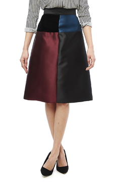 Carine Color Block Skirt - Product List Image