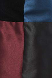 Carine Color Block Skirt - Side cropped