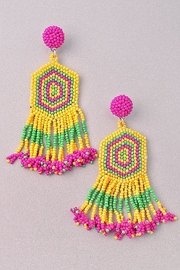 ADRIANA JEWERLY Carla Earrings - Product Mini Image
