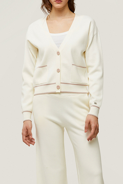 Soia & Kyo Carla Sustainable Knit Cardigan - Product List Image