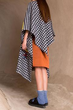 Shoptiques Product: Leather Magma Poncho