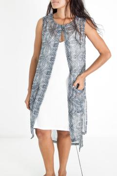 Shoptiques Product: Printed Tunic Vest