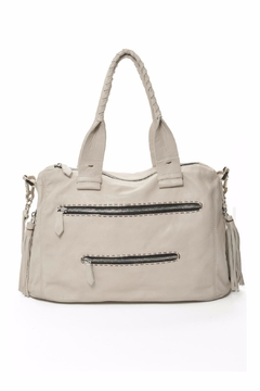 Carla Mancini Joel Leather Shoulder Bag - Product List Image
