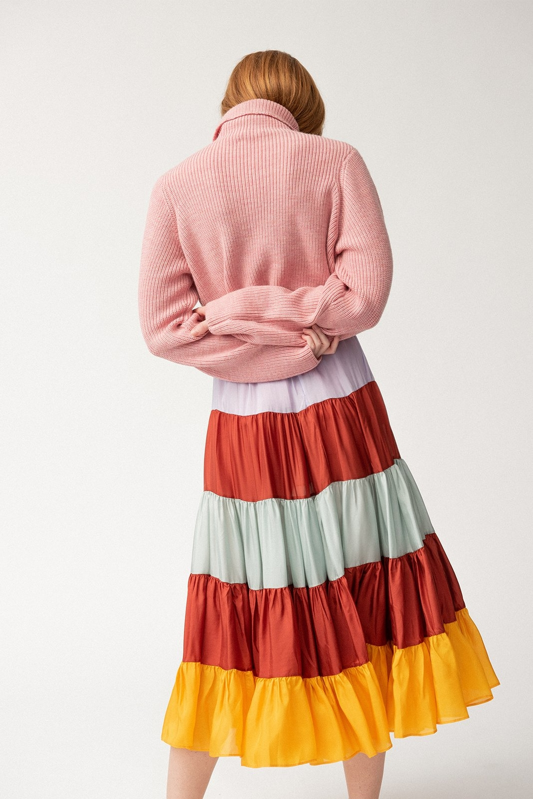 Carleen Jean-Claude Skirt - Side Cropped Image