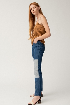 Carleen Two-Tone Jeans - Alternate List Image