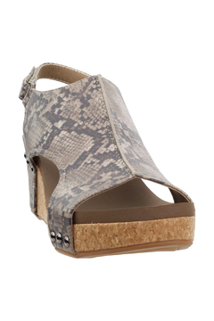 Corky's Shoes Carley Wedge Sandal - Product List Image