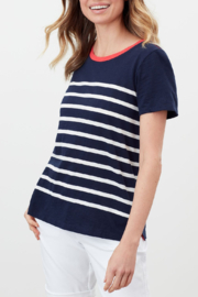 Joules Carley Stripe Tee - Product Mini Image