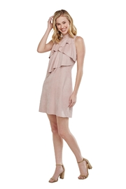 Mud Pie Carley Suede Dress - Product Mini Image