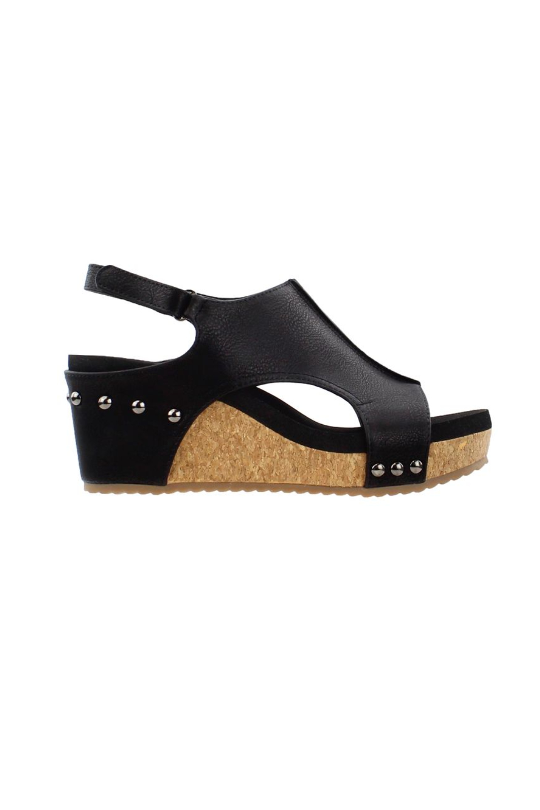 Corkys Carley Wedge - Front Full Image