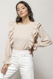 Line & Dot CARLY CRINKLED BLOUSE - Product Mini Image