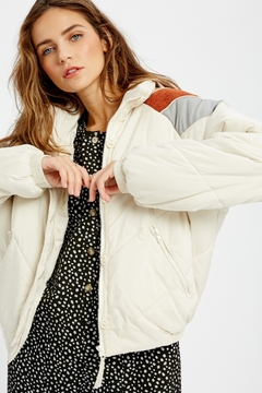 Wishlist Carly Quilted Down Jacket (more colors) - Alternate List Image