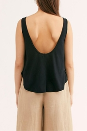 Free People Carly Tank Black - Front full body