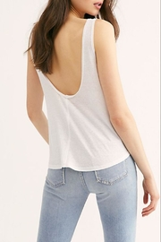 Free People Carly Tank White - Front full body