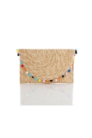 Shiraleah Carmelita Straw Clutch - Product Mini Image
