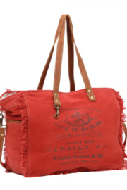 Myra Bags CARMINE WEEKENDER BAG - Product Mini Image