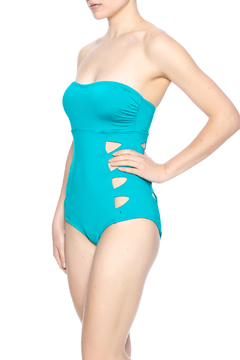 Carmen Marc Valvo Cut Out Bandeau Monokini - Product List Image