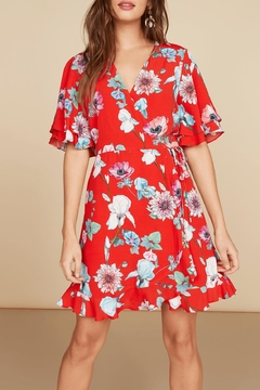 Willow & Clay Carmen Wrap Dress - Product List Image