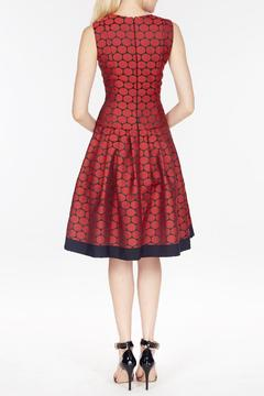 Carmen Marc Valvo Jacquard Dress - Alternate List Image