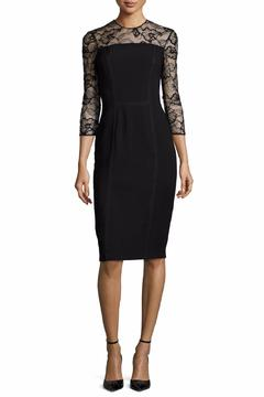Carmen Marc Valvo Lace Trim Dress - Product List Image