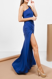 Carmen Marc Valvo Open Leg Royal - Front cropped