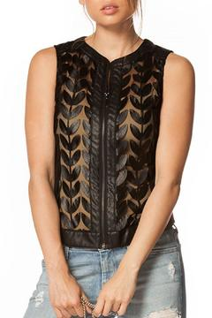Shoptiques Product: Black Mesh Vest