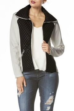 Carmin Quilted Zip Up Jacket - Product List Image