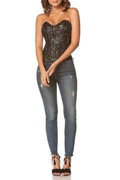 Shoptiques Product: Sequin Sparkle Corset