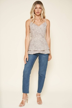 Sugarlips Carnaby Leopard Cami Top - Alternate List Image