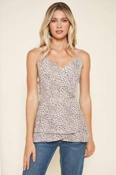 Sugarlips Carnaby Leopard Cami Top - Product List Image