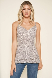 Sugarlips Carnaby Leopard Cami Top - Front cropped