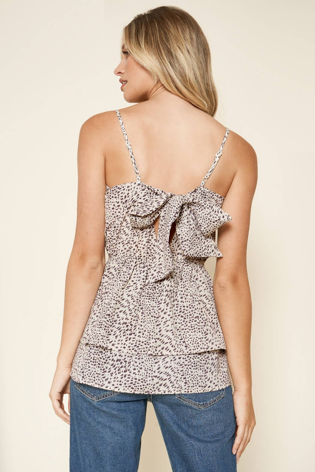 Sugarlips Carnaby Leopard Cami Top - Side Cropped Image